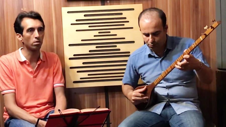 بداههنوازی دشتی و تصنیف شراب ملک ری نیما فریدونی سهتار احسان جاودانی آواز