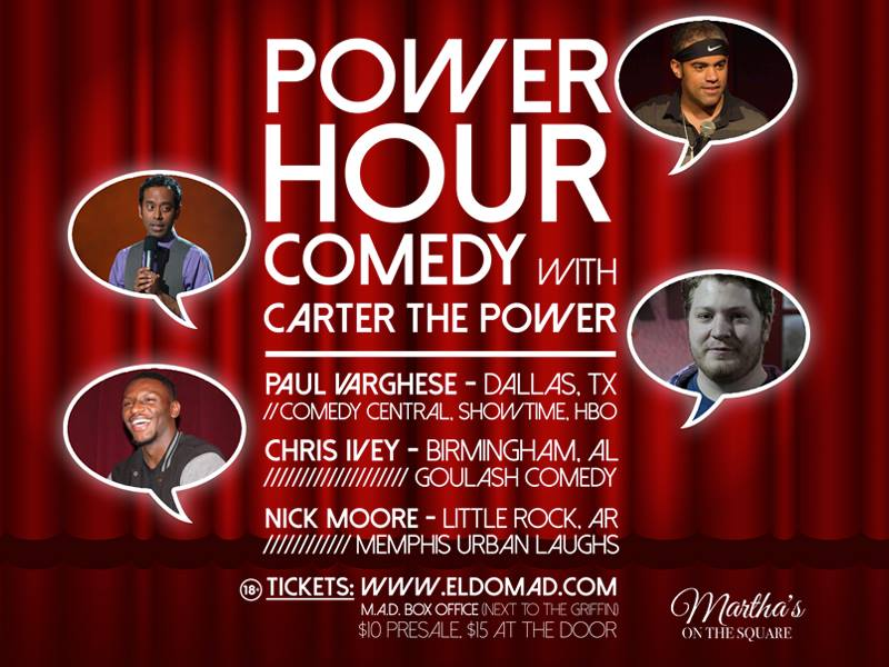 <h3>Power Hour Comedy</h3>