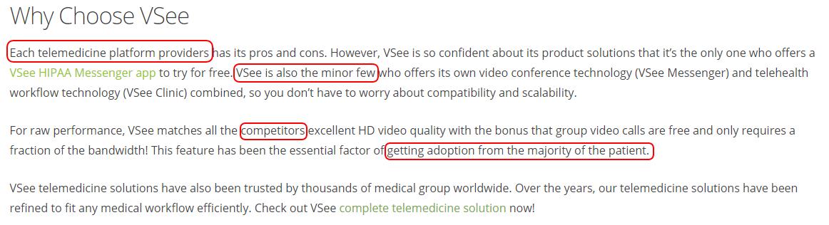 VSee review: best telehealth platform for developers & integrations