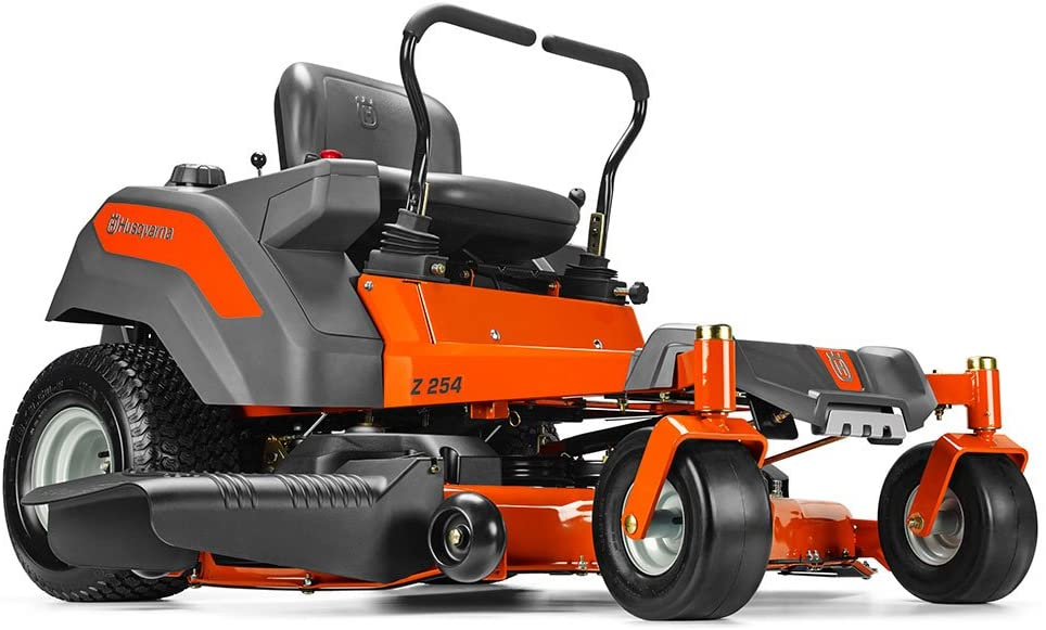 The 724cc V-Twin Zero Turn 967324101 54-Inch Riding Lawn Mower From Husqvarna