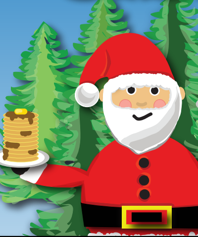 Santa with Pancakes