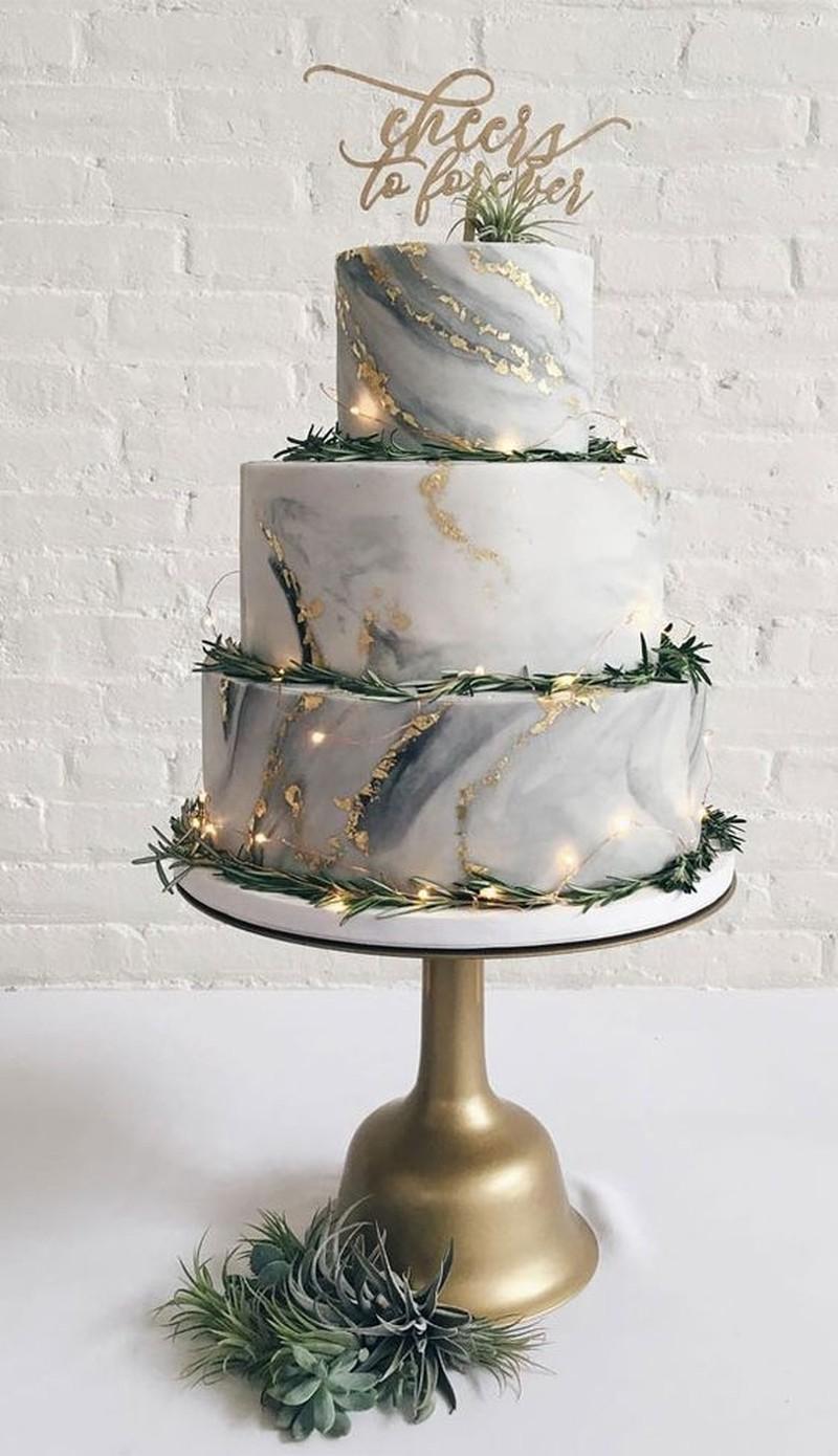 nhà hàng tiệc cưới TPHCM Riverside chia sẻ mẫu bánh cưới đẹp 6