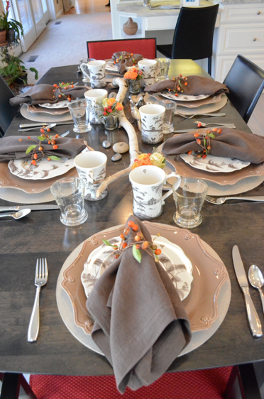 Fall Decorated Table