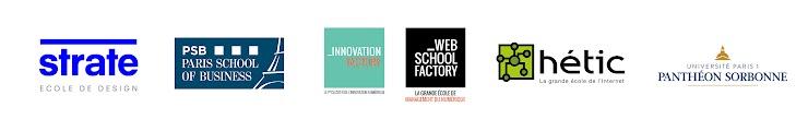 Logos des écoles