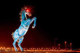 Blucifer: What's the Story With Denver Airport's Scary Horse Statue?