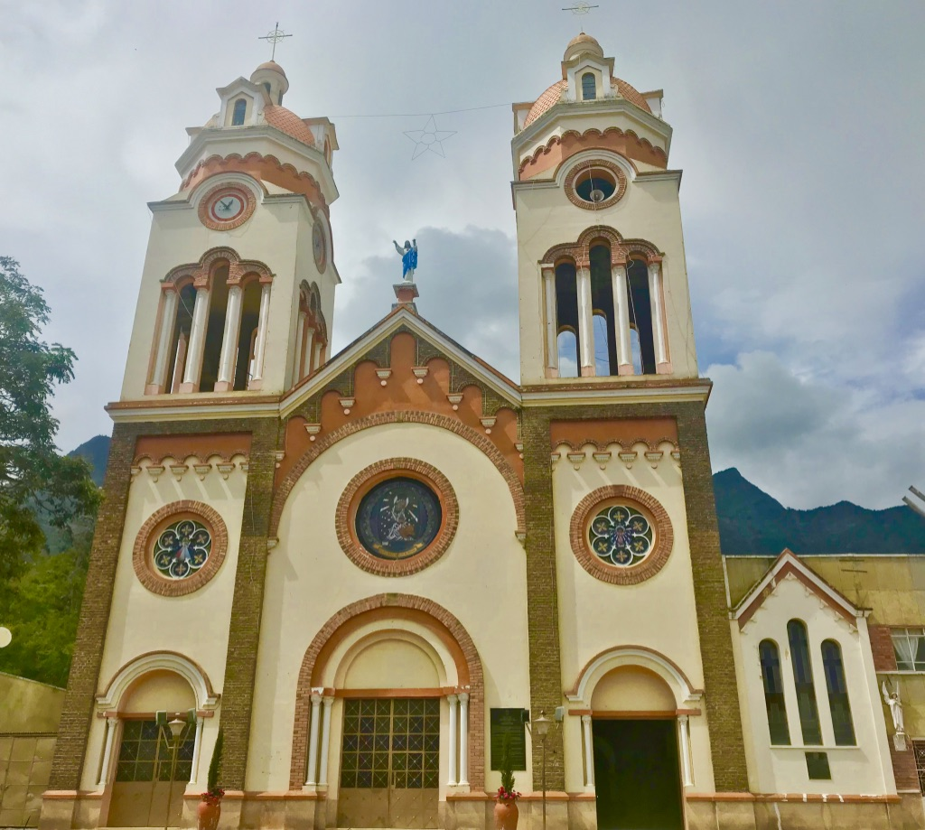 Church in Ubaque, Colombia