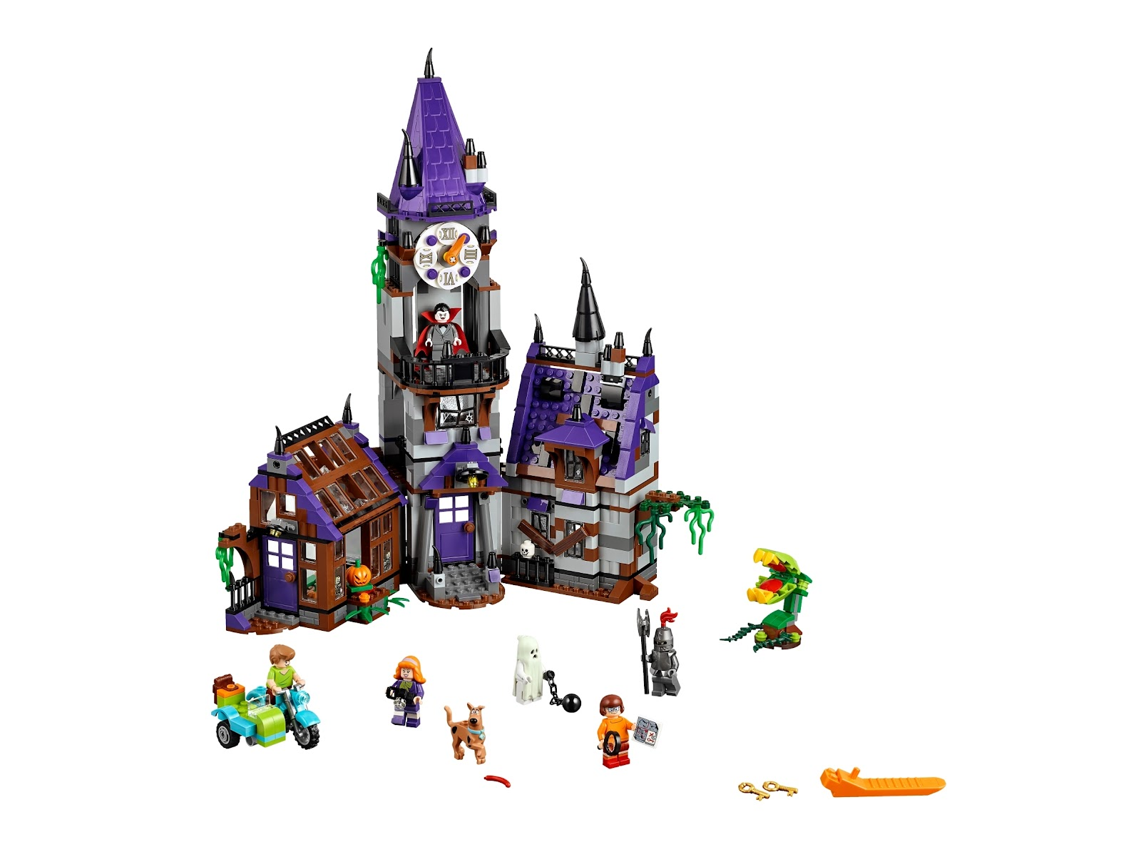 Mystery Mansion 75904 | Scooby-Doo | Buy online at the Official LEGO® Shop GB
