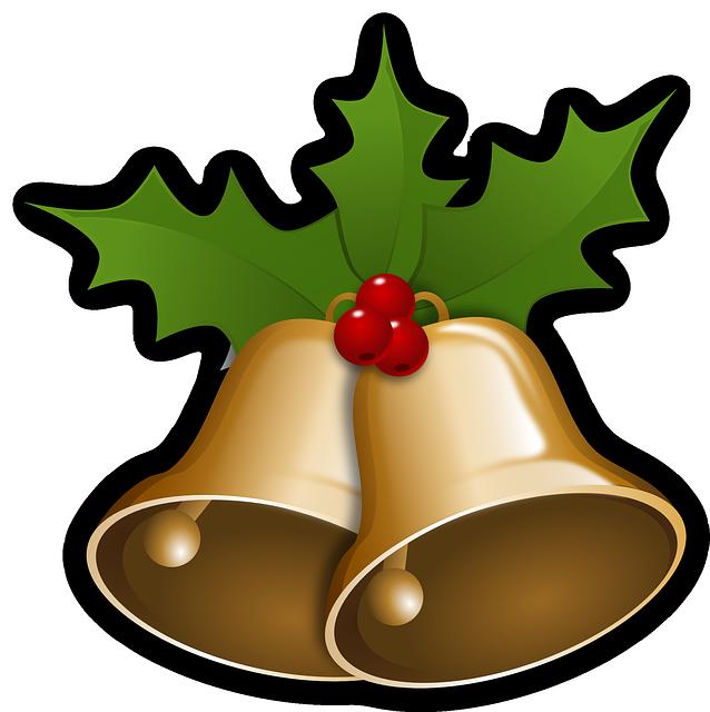 Cloches, Noël, Houx