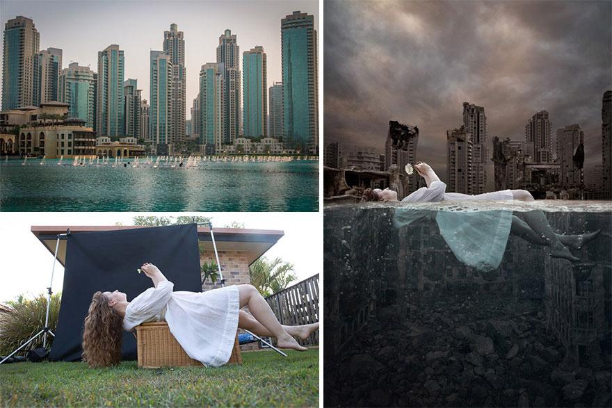"""The Chrysanthemum"" – Faking Underwater Scenes"