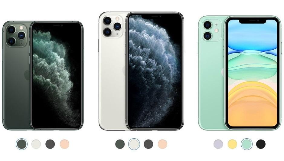 So sánh iPhone 11 với iPhone 11 Pro và Pro Max