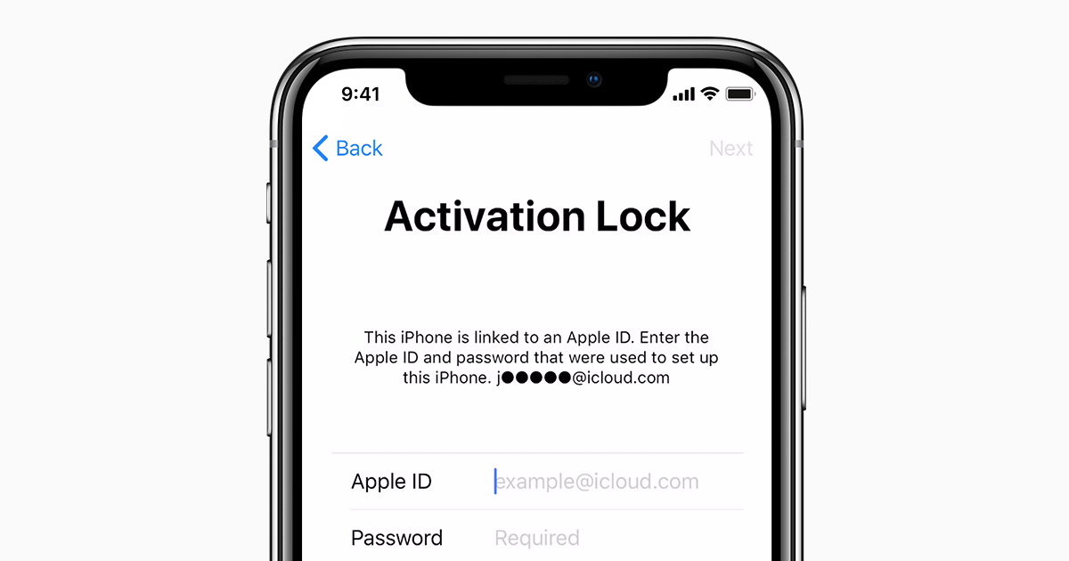 how to remove activation lock in iphone