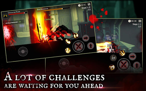 Shadow of Death: Dark Knight - Stickman Fighting- screenshot thumbnail