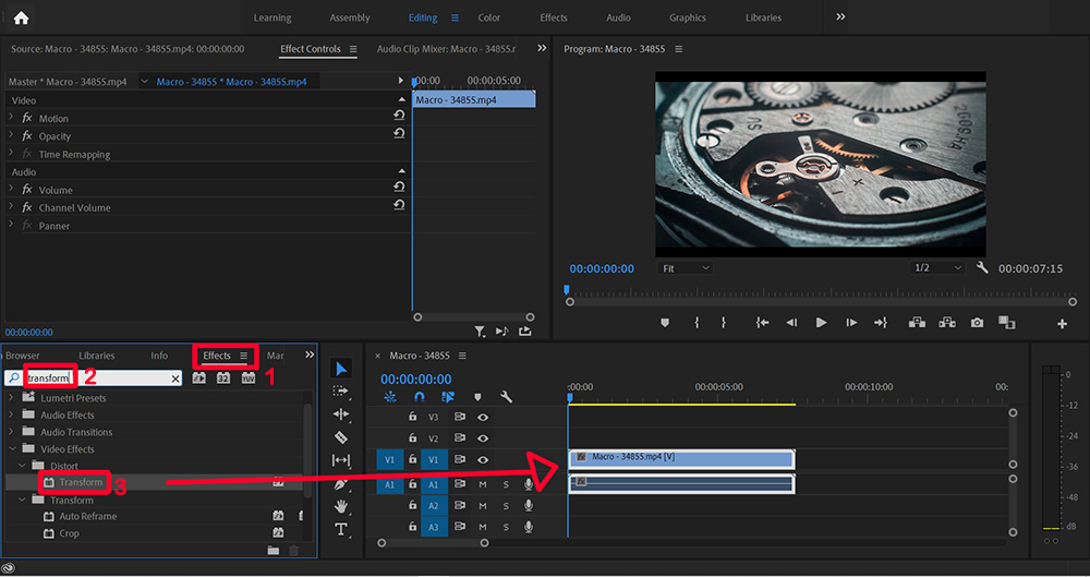how to zoom in on premiere pro