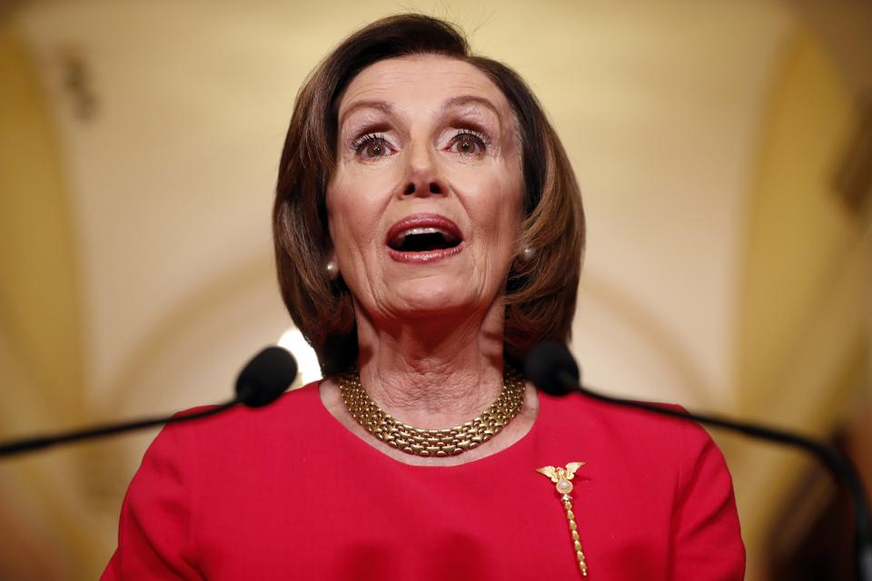 Nancy Pelosi, Speaker of the House (source:Forbes)