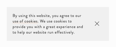 A notice-only cookie banner.