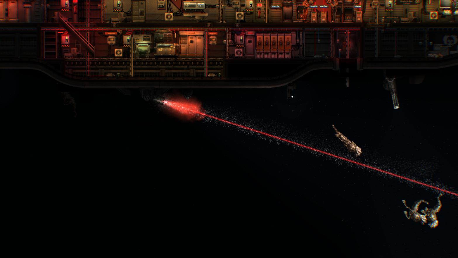 New Barotrauma weapon, pulse laser.