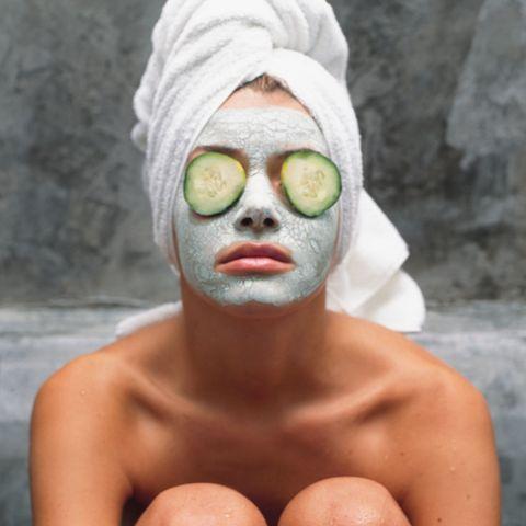 DIY masks for hair & face
