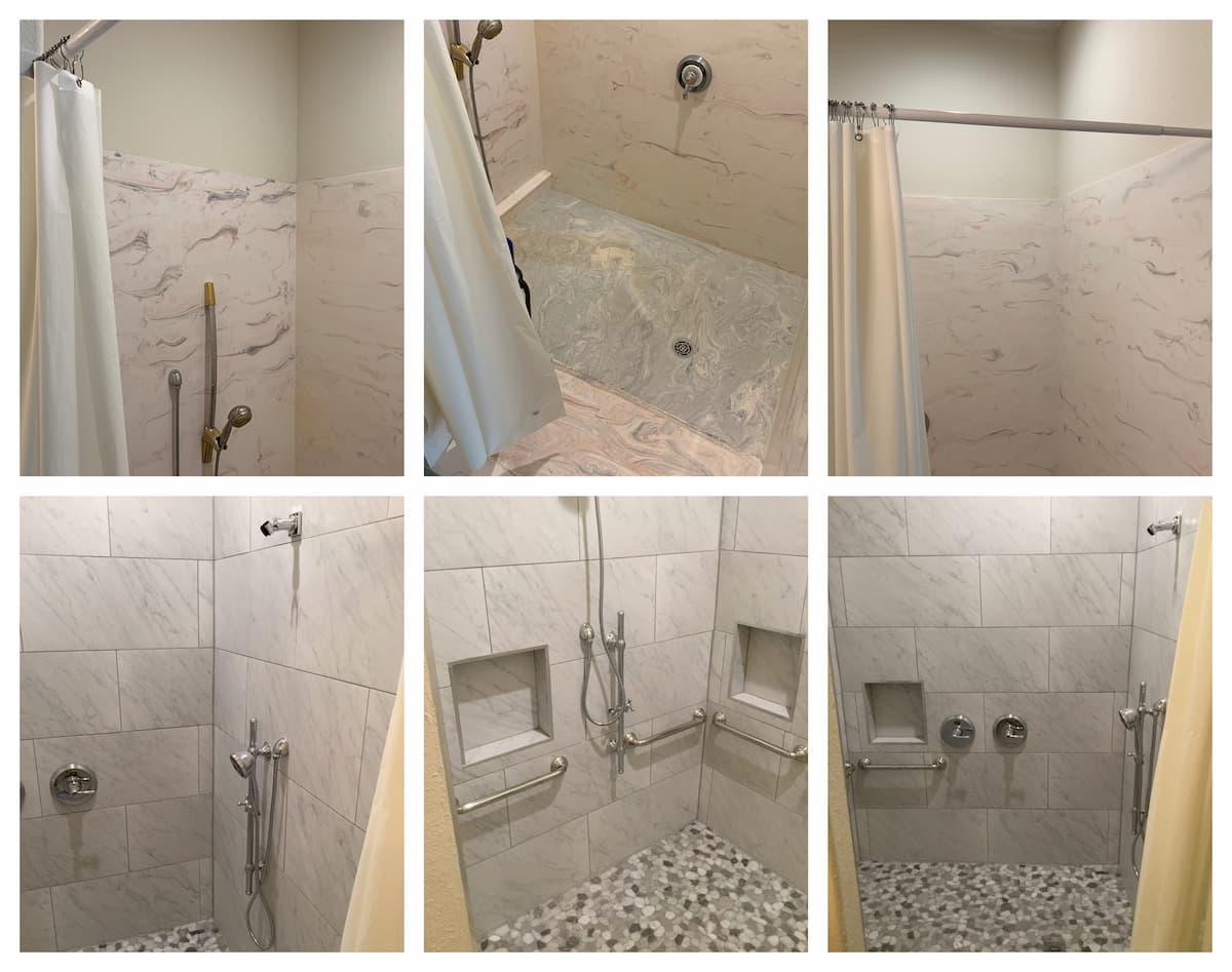Garland Handyman bathroom renovation services