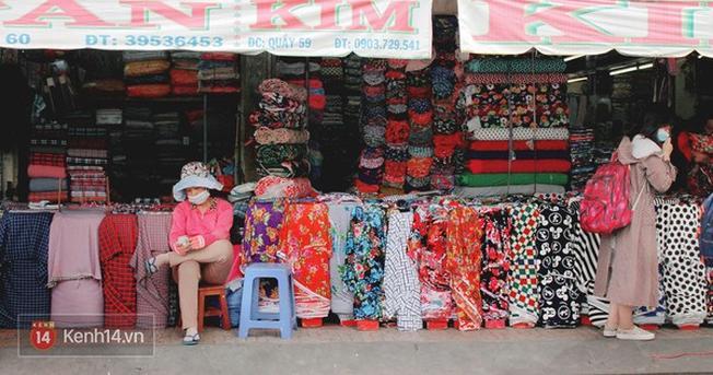 Chợ vải Sài Gòn