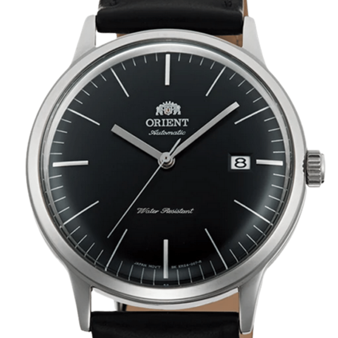 Orient Bambino watch featuring Stick markers
