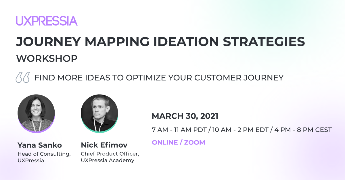 journey mapping ideation