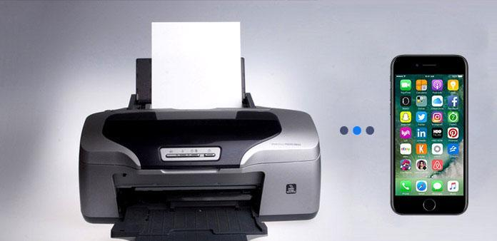 connect iphone to printer