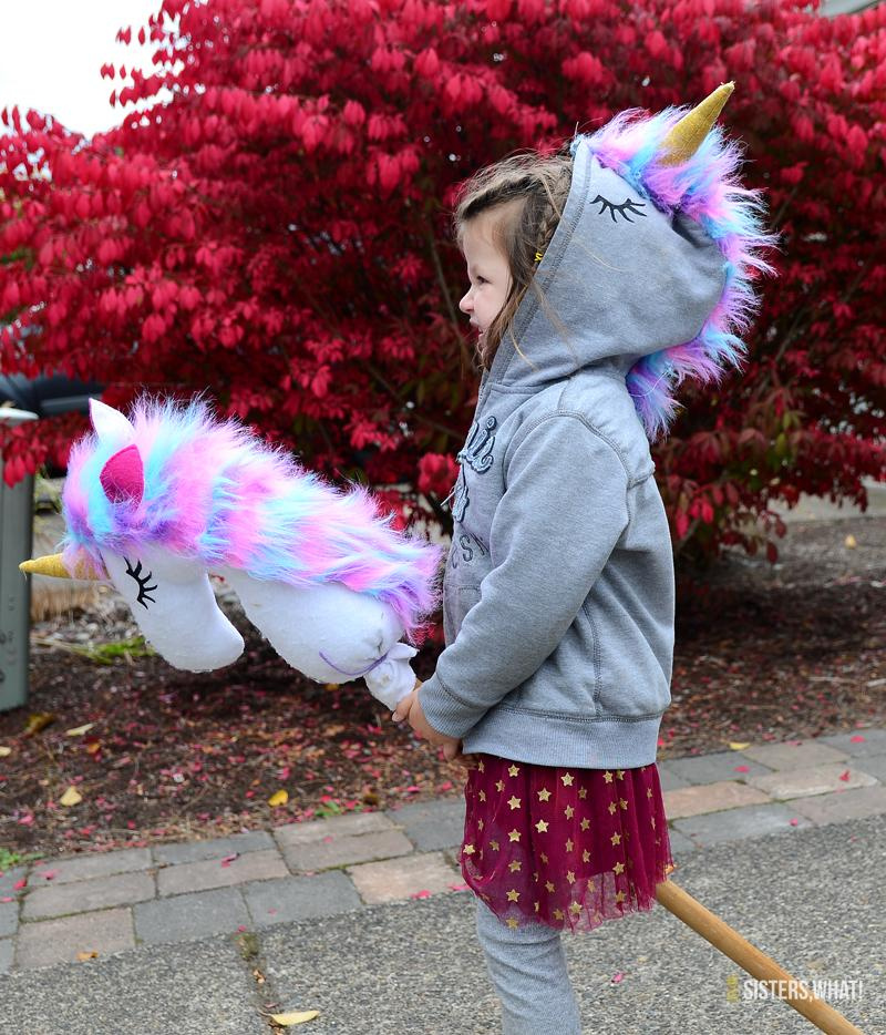Give your little unicorn some magic this year with a DIY unicorn sweatshirt from Sisters, What! See all the Best Crafts of 2018 from more of your favorite bloggers at Halfpint Design.