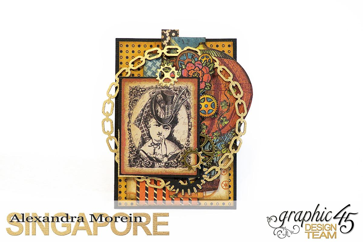 Steampunk Spells Artist Trading Cards, Project by Alexandra Morein, Product by Graphic 45, Photo 2.jpg