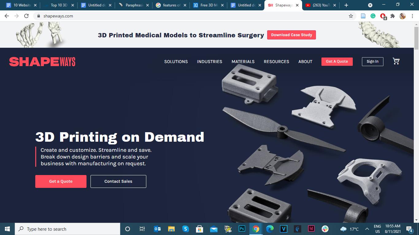 free 3D model downloads