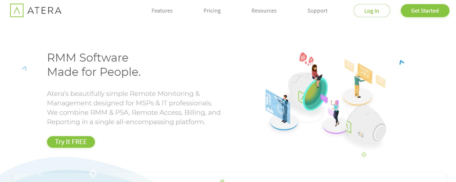 LAN Monitoring Tools - Atera