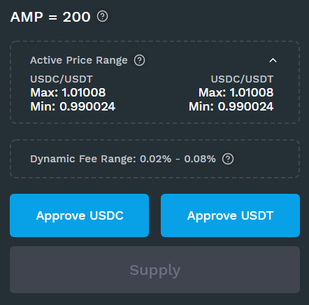 Add liquidity to Kyber DMM