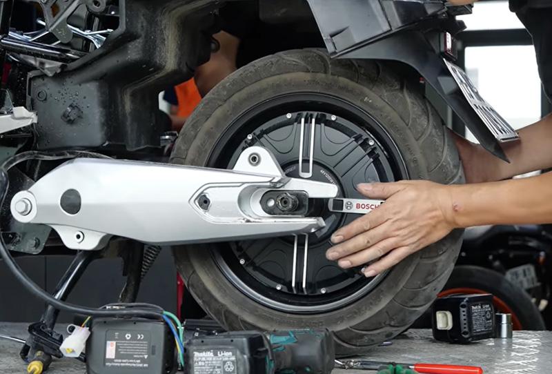 KlaraS được trang bị động cơ điện của Bosch – thương hiệu số 1 thế giới về động cơ điện.