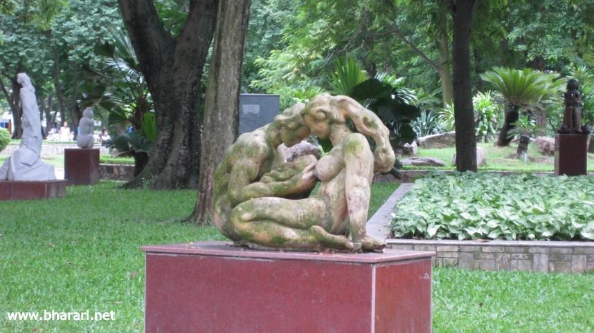 A statue in Hanoi, Vietnam