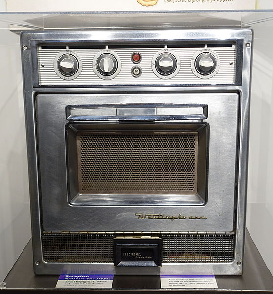A demo model along the way in the evolution of microwave power consumption.