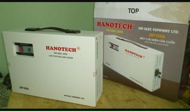 Bộ tích điện cửa cuốn Hanotech