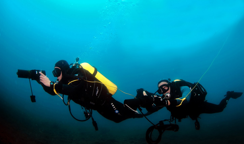 Capturando cada momento bajo el agua