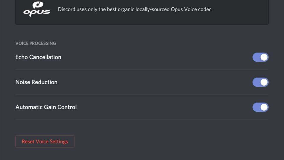 Ajustar configuración de audio en Discord