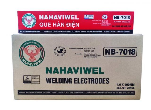 Các bạn hãy đặt mua que hàn e7018 tại Nahaviwel qua số điện thoại hoặc vào website