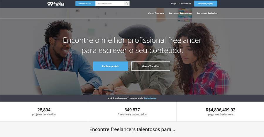 Site Freelancer 99Freelas