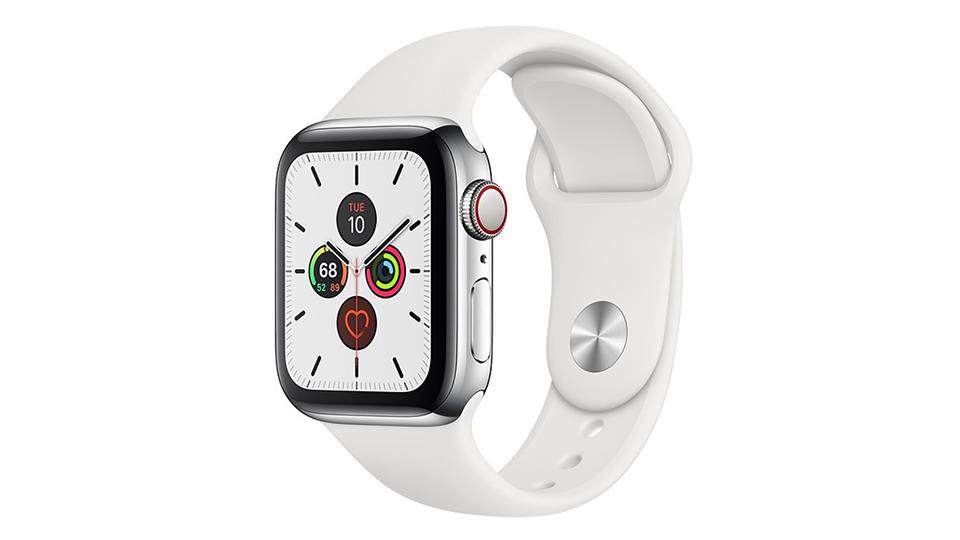 Apple Watch Series 5 Cellular 40mm viền thép dây cao su chu kỳ