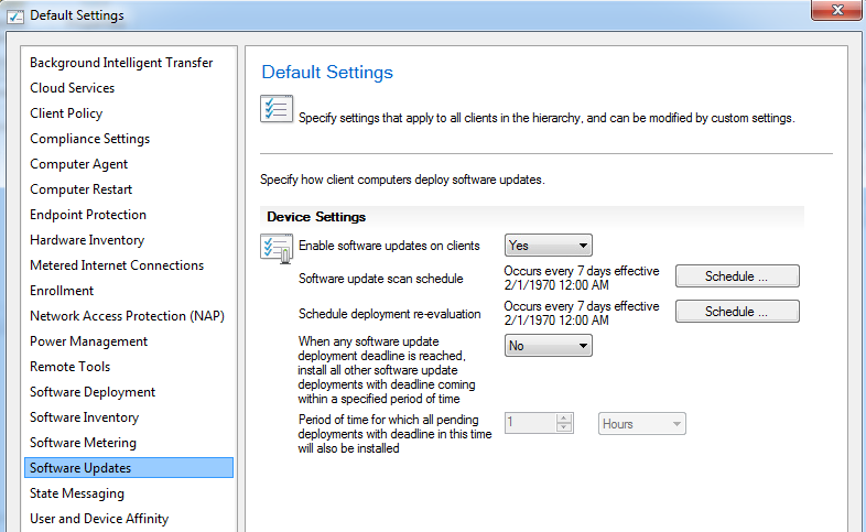 troubleshooting software updates installation failure from sccm client end
