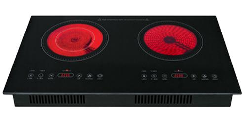 Bếp hồng ngoại chỉ đạt hiệu suất truyền nhiệt ở mức trung bình