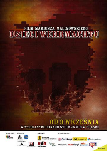 Polski plakat filmu 'Dzieci Wermachtu'