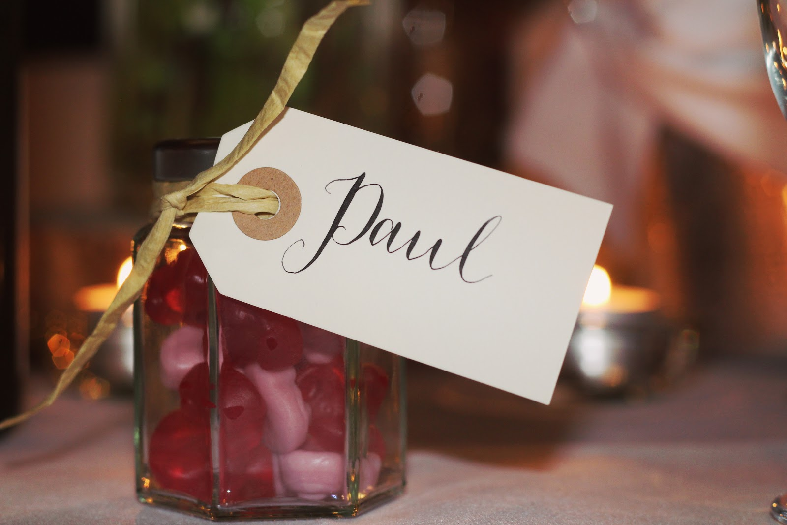 Wedding Candy Favor