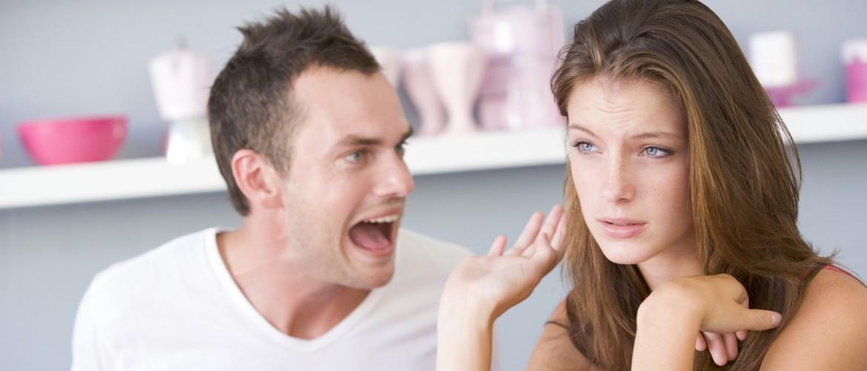Муж кричит на жену