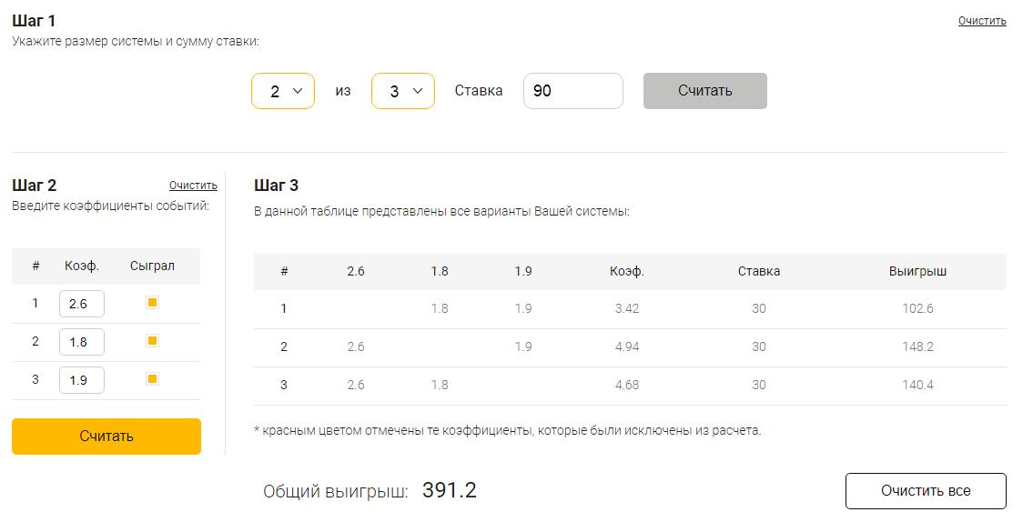Как работает система в ставках на спорт расчет пени онлайн калькулятор от ставки рефинансирования