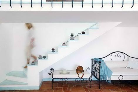 Mediterr neo interior principales caracter sticas y for Sala de estar estilo mediterraneo