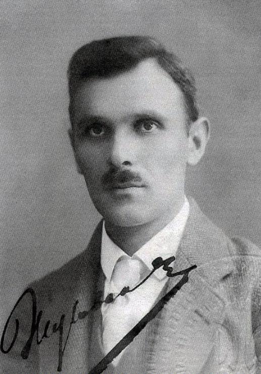 Олександр Жуковський – міністр військових справ УНР. Фото 1920-х років