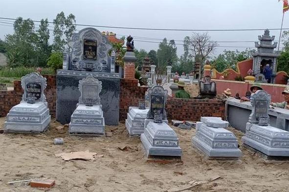 Nên sắp xếp mộ sao cho phù hợp nhất trong nghĩa trang gia đình