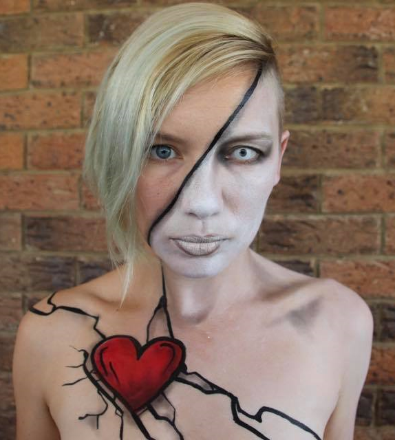 Meet Our Sponsored Artist For The Australian Body Art Festival 2019 Sam Lahy Face Paint Shop Australia